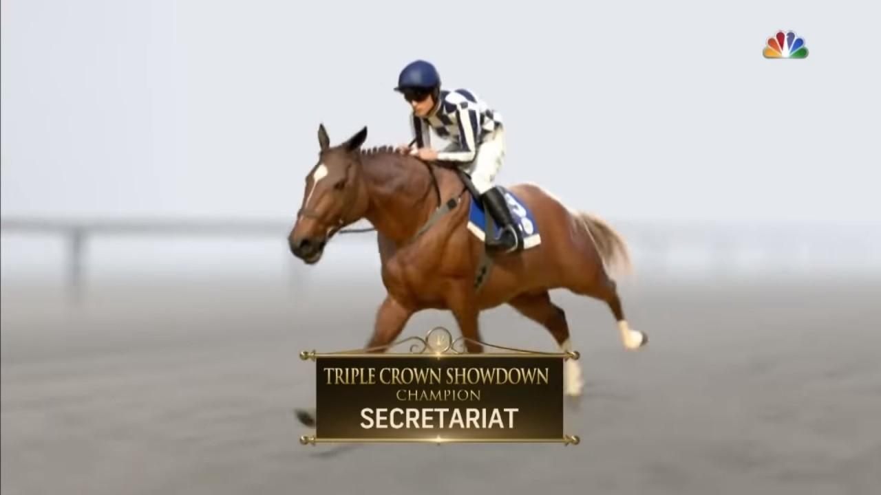 Secretariat rules supreme in virtual Kentucky Derby of Triple ...