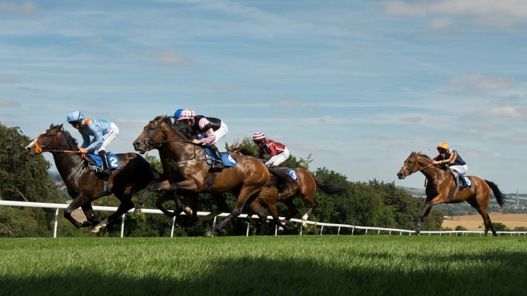 British racing: has a 20 per cent decrease in minimum prize-money levels when racing restarts