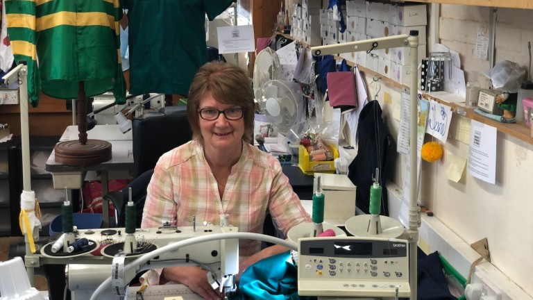 Staff at leading silks maker Allertons have been volunteering to help the NHS by creating scrubs