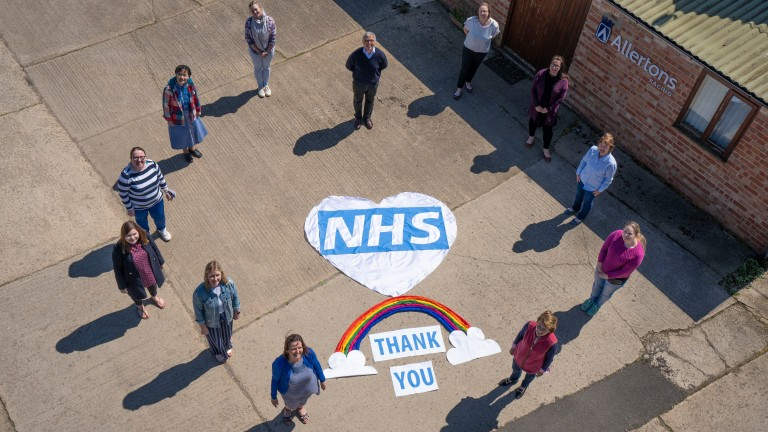 Allertons: efforts are being appreciated by NHS staff