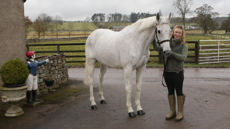 Monet's Garden, pictured aged 19 with his number one fan Joey Richards in February 2017