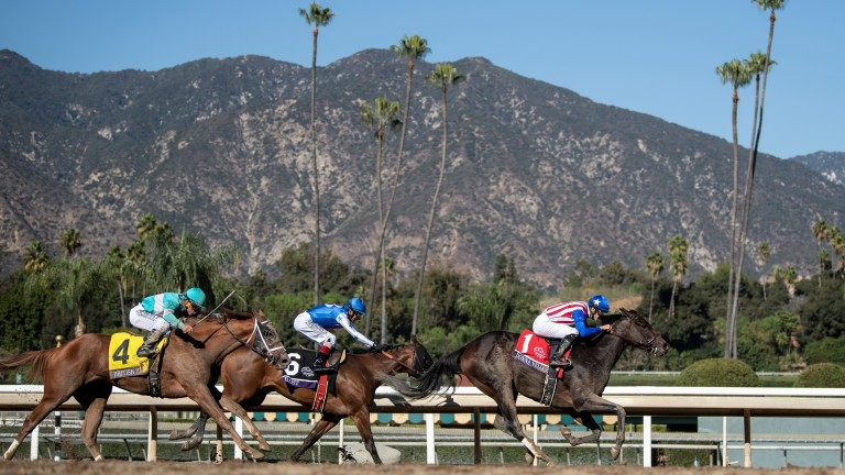 Santa Anita: racing will return to the track on Friday