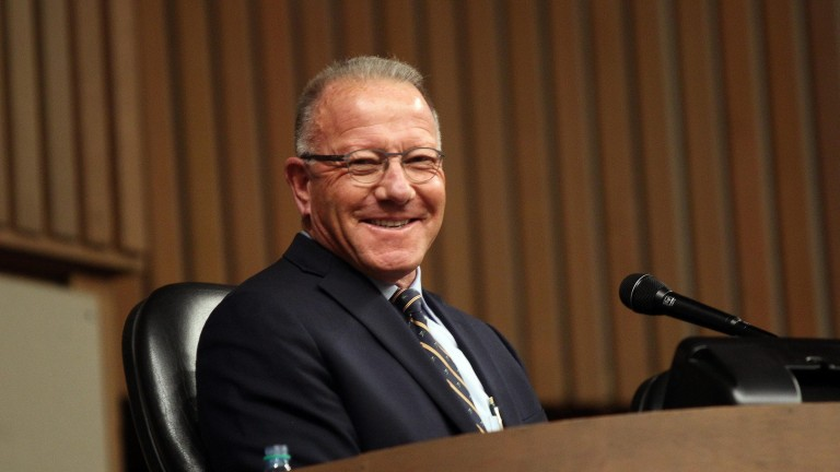 Cris Caldwell: sold millions of dollars-worth of stock at Keeneland