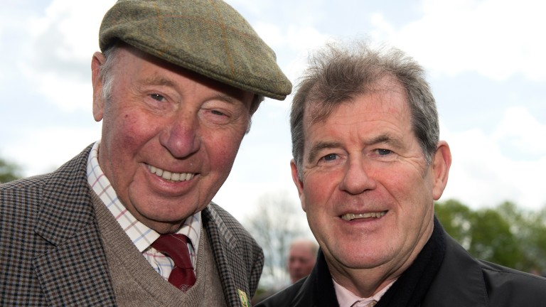 Trevor Hemmings and JP McManus, two of the most high-profile owners in British racing