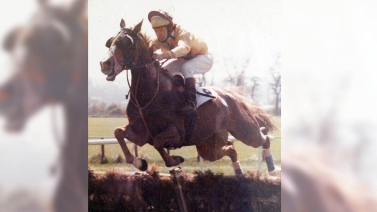 John Gillen: pictured in his younger days as a jockey
