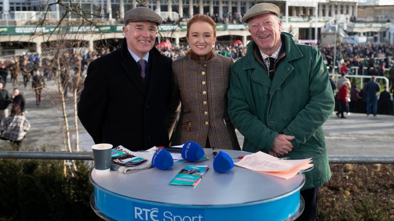 RTE Racing: set to embark into its first Flat season without Robert Hall (right) since 1982