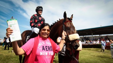 Rita Shah: leads in Imperial Shabra at Bellewstown