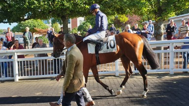 Ocean Atlantique is now vying for favouritism for the Prix du Jockey Club after dominating his Listed rivals by five lengths at Deauville on Sunday