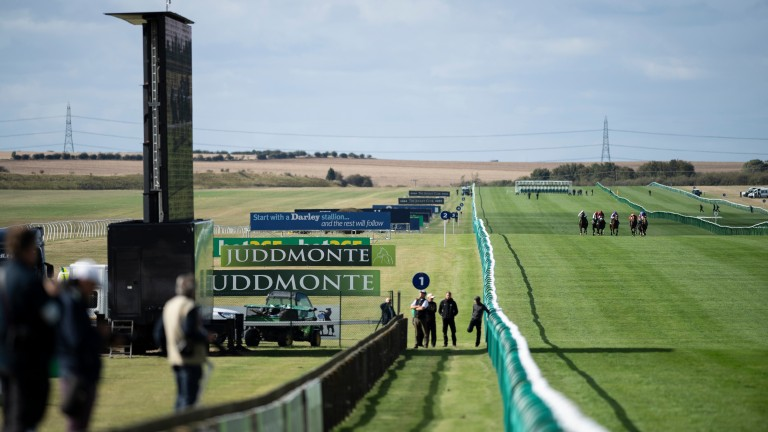 There are six races for juveniles on the Rowley Mile on Thursday