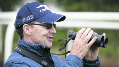 Aidan O'Brien: holds the key to the Beresford Stakes