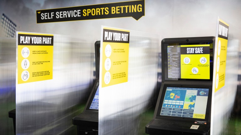 Betting shops will close in Wales from Friday
