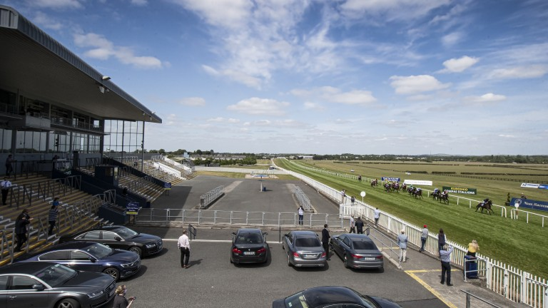 Naas: will play host to two Goffs' sponsorships in the Lacken Stakes and now the Sportsman's Challenge