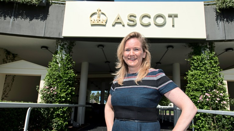 Ascot chief commercial officer Juliet Slot is leaving the course in August