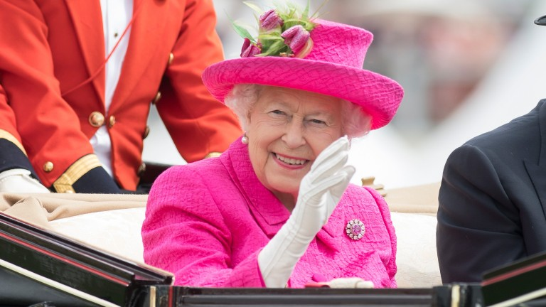 The Queen: was unable to attend Royal Ascot this year