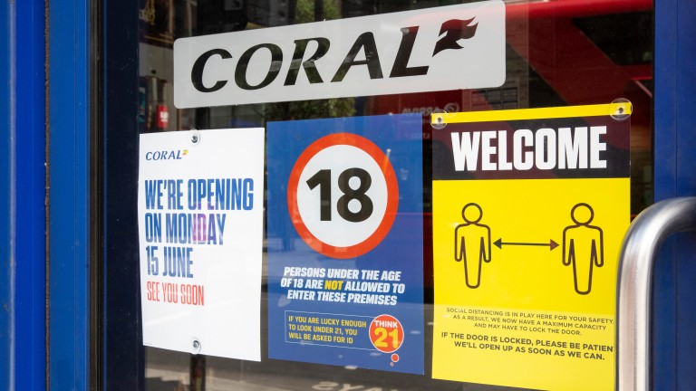 Coral: reopened all English shops on Monday
