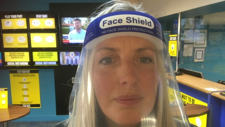 Louise Masters, manager of Coral betting shop in Yeadon
