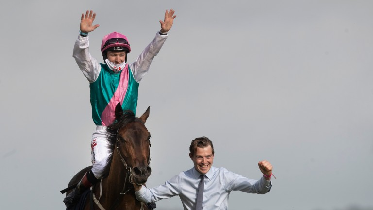 Siskin: a peak audience of 129,000 tuned into RTE2 to see the brilliant Irish 2,000 Guineas winner