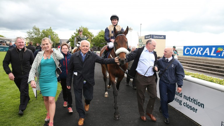 Fascinating Rock: Ballylinch Stud opened his account at stud on Tuesday