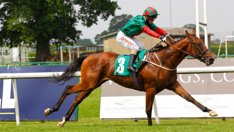 High Peak gives Fascinating Rock a first winner
