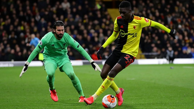 Watford's Ismaila Sarr could make a big impression against Leicester