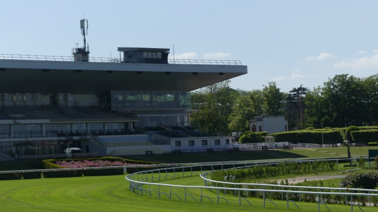 Saint-Cloud racecourse, where a fellow trainer witnessed Andrea Marcialis carrying a syringe filled with a clear liquid