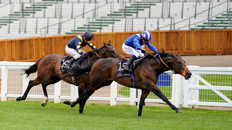 Motakhayyel strikes in the Buckingham Palace Handicap at Royal Ascot