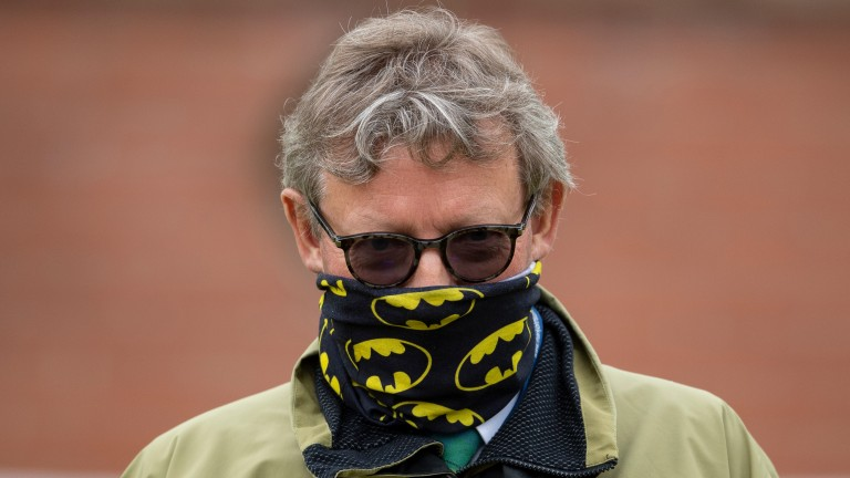 Mark Johnston: had the winners of both the Dante and the Musidora at York on Thursday