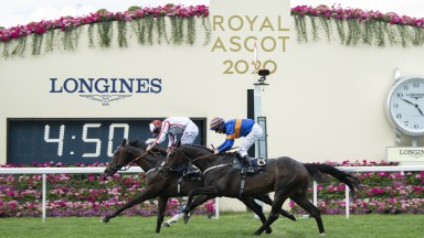 Who Dares Win: victorious in the Queen Alexandra Stakes at Royal Ascot on Saturday
