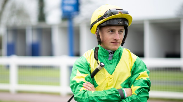 Tom Marquand: will not ride English King in the Derby next month