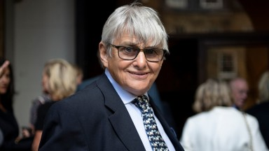 Willie Carson pictured at John Dunlop's memorial service in September 2018