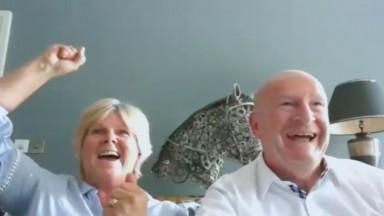 Susan & John Waterworth celebrating March Law