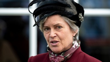 Rose Paterson, chairman of AintreeAintree 6.4.19 Pic: Edward Whitaker