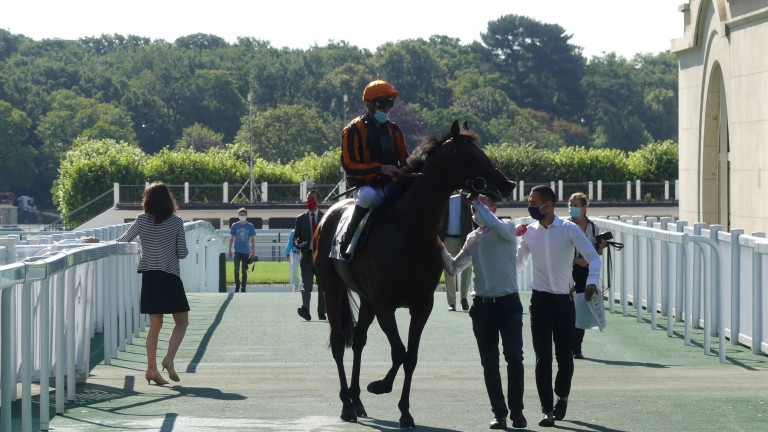 Telecaster and Christophe Soumillon return to unsaddle at Longchamp after dominating La Coupe