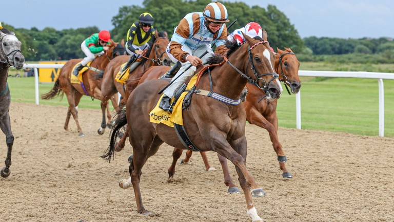 Caspian Prince: wins the Gosforth Park Cup under Tom Marquand