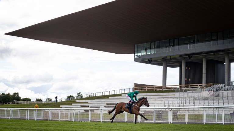 The Curragh stage the second day of the Irish Oaks meeting behind closed doors this afternoon