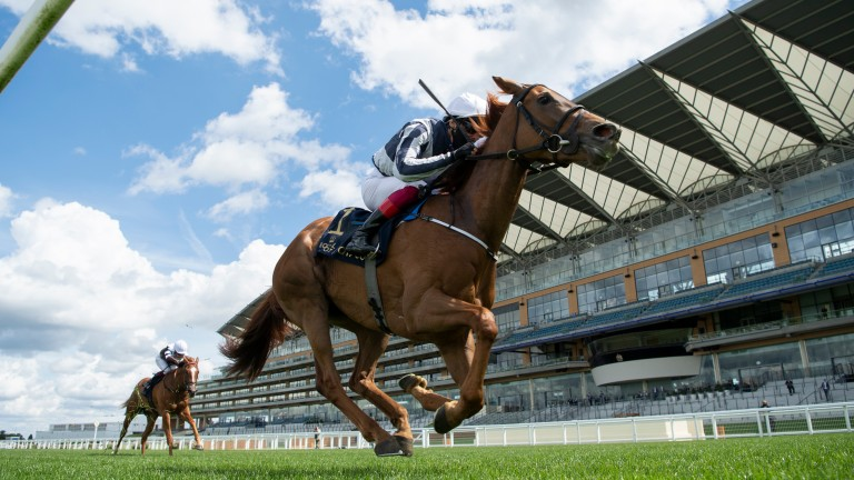 Alpine Star: daughter of Sea The Moon was an easy winner of the Coronation Stakes