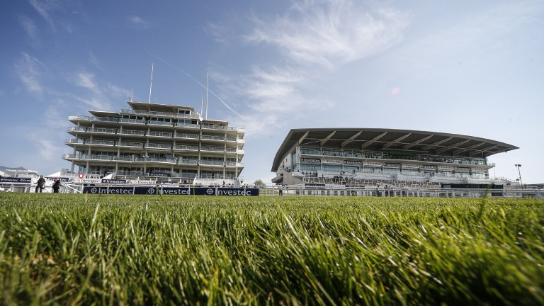 Epsom: hosts the Investec Derby and Oaks later today