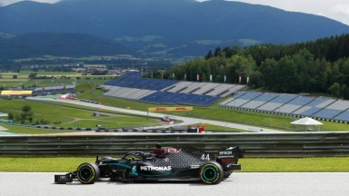 Lewis Hamilton set the pace on the opening day of the season