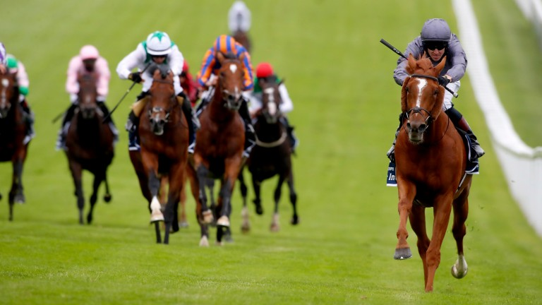 Serpentine: won the last Derby to be sponsored by Investec