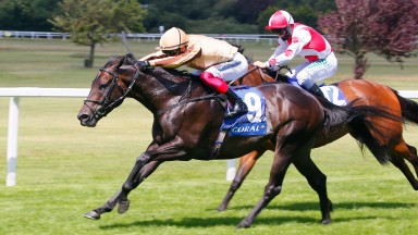 A'Ali: wins the Group 3 Coral Charge at Sandown under Frankie Dettori