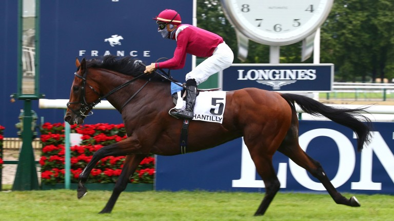 Mishriff and Ioritz Mendizabal land the Prix du Jockey Club at Chantilly