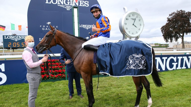 Fancy Blue: won two Group 1 races this year, including the French Oaks