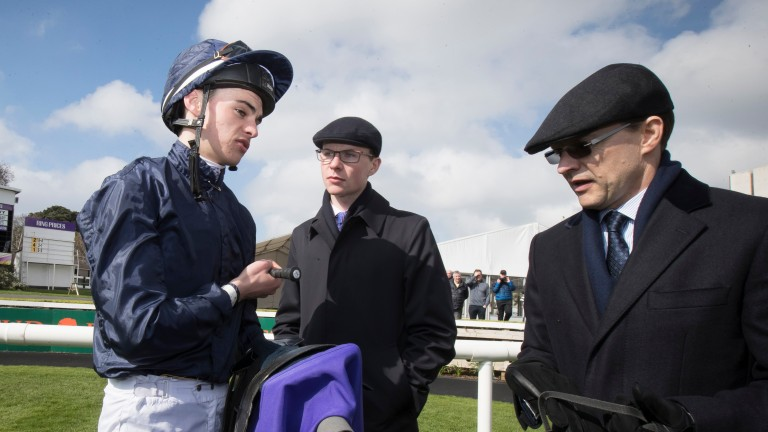 No horses trained by Donnacha (left), Joseph (centre) and Aidan O'Brien (right) will take part in Paris