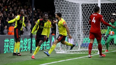Watford's last victory came when they shocked Liverpool in February