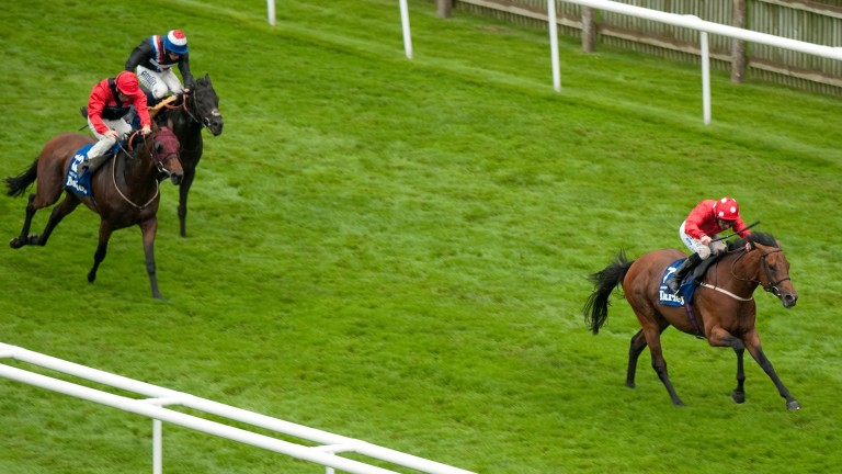 Mayson bolts up in the July Cup in 2012