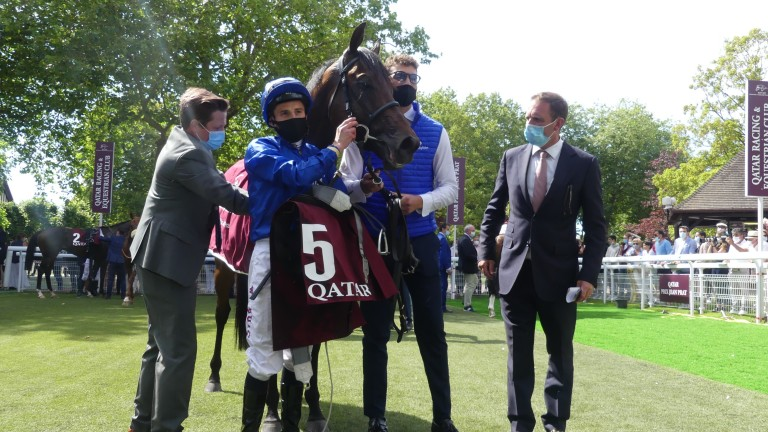Pinatubo: won the Prix Jean Prat at Deauville for Charlie Appleby and William Buick