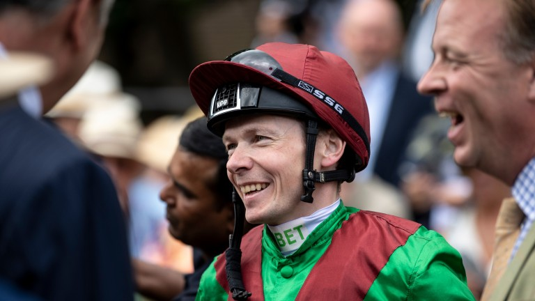 Jamie Spencer: does not share the same affection when Frankie Dettori has a great day