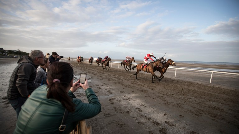 Laytown: first staged racing in 1868