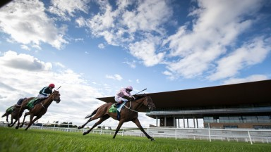 Even So and Colin Keane wins the Irish Oaks (Group1).The Curragh Racecourse.Photo: Patrick McCann/Racing Post 18.07.2020
