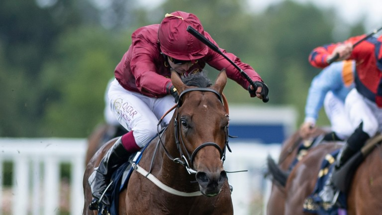 Royal Ascot: The Lir Jet's biggest success thus far came in the Group 2 Norfolk Stakes